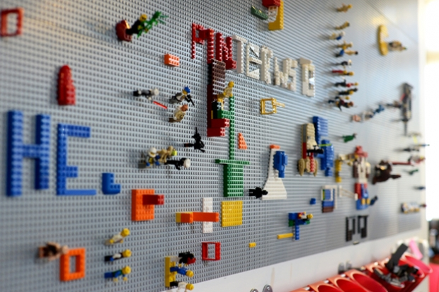 Desktop Toys For Grown Ups : Grown up uses for lego in the office