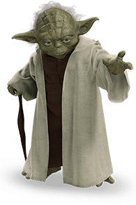 image of Yoda from Star Wars
