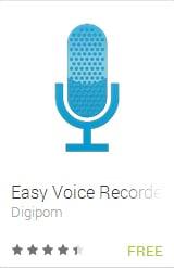 EasyVoiceRecorderAndroidApp