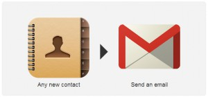 IFTTT-contact-email