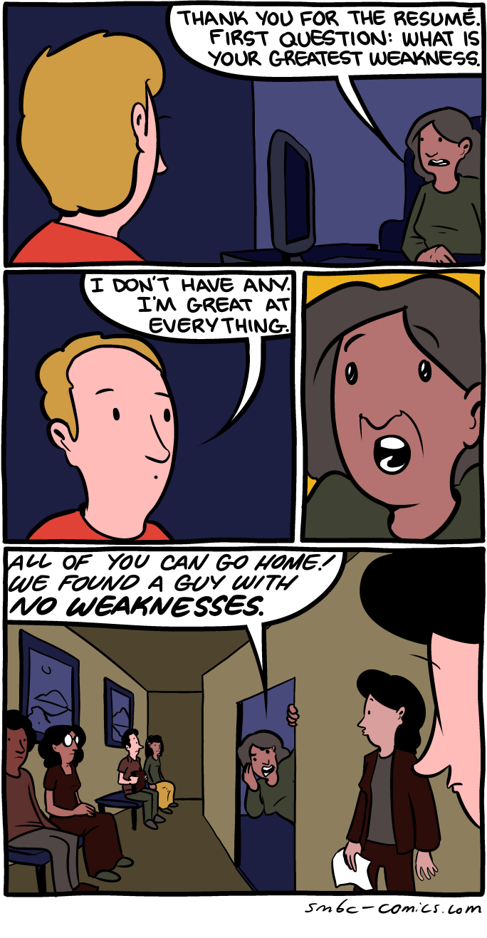 greatest weakness