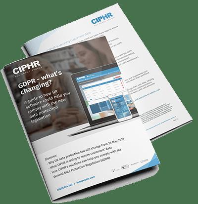 ciphr GDPR paper