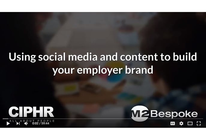 Employer brand webinar front screen