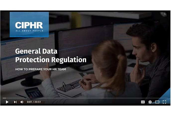 GDPR webinar front screen