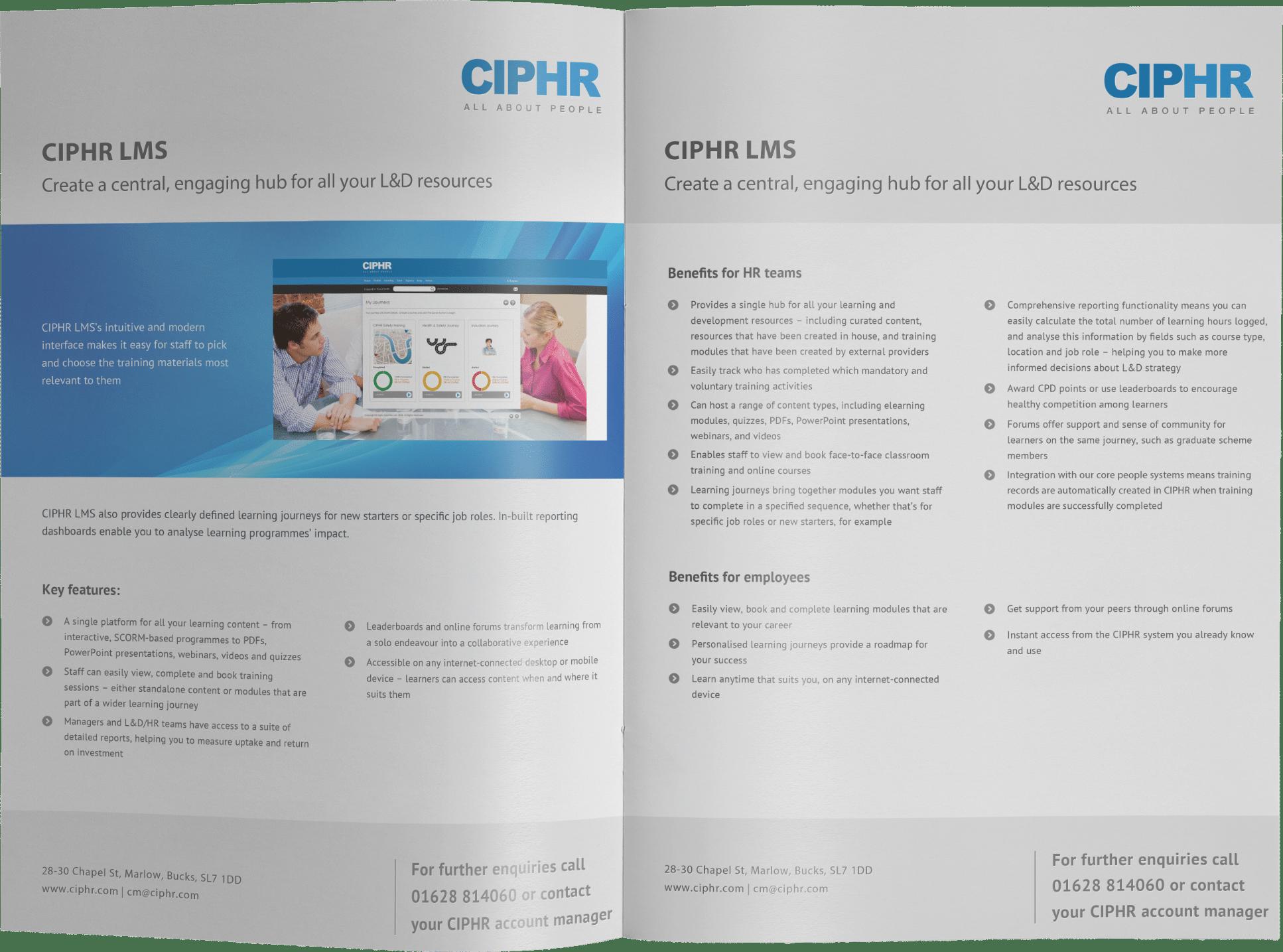 CIPHR LMS Brochure