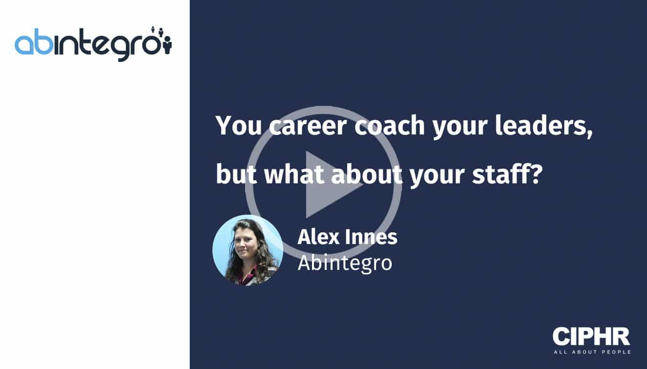 You career coach your leaders, but what about your staff?