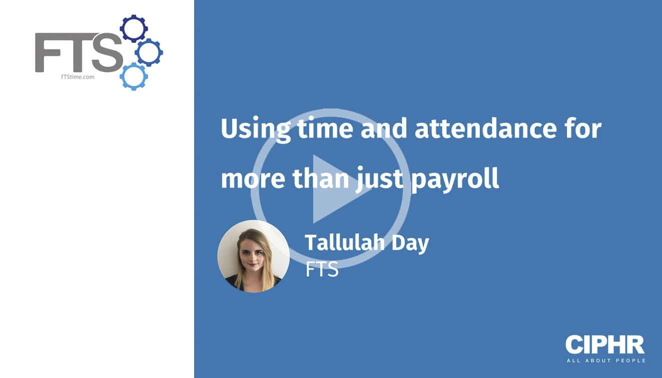 Using time and attendance for more than just payroll