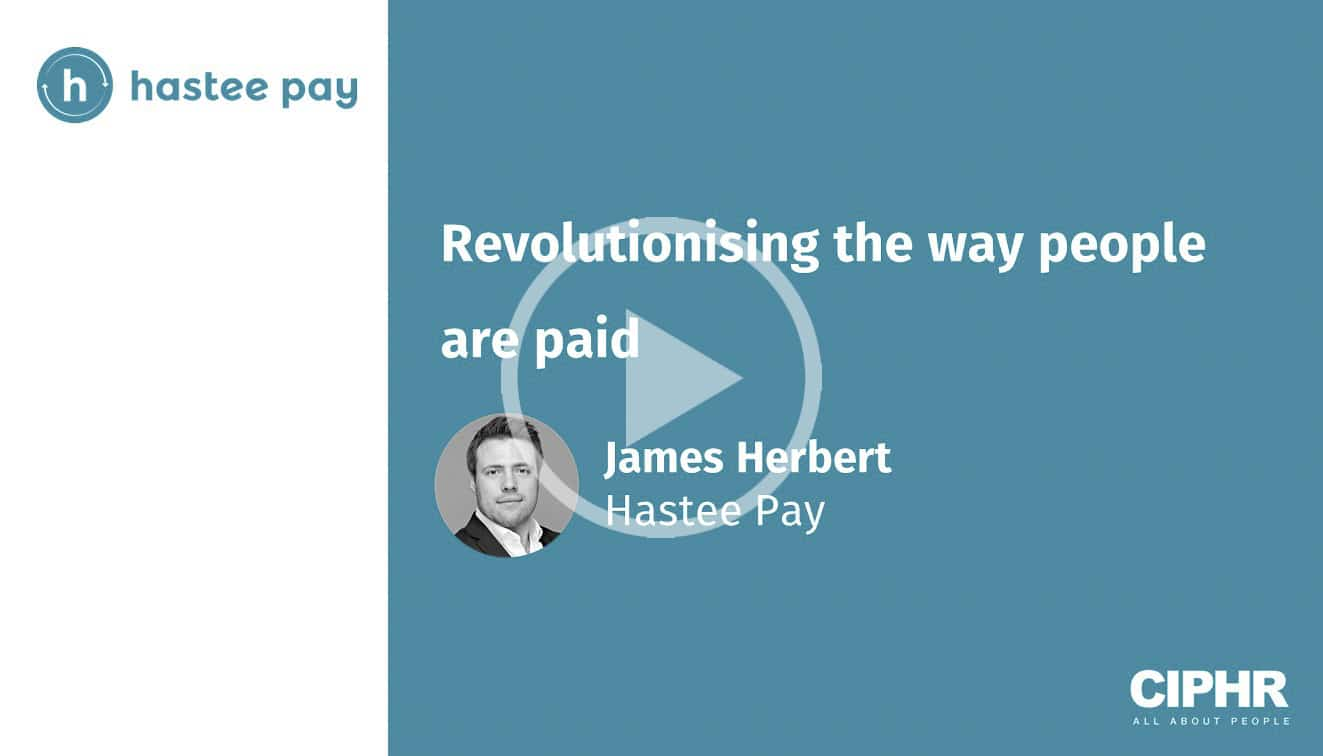 Revolutionising the way people are paid