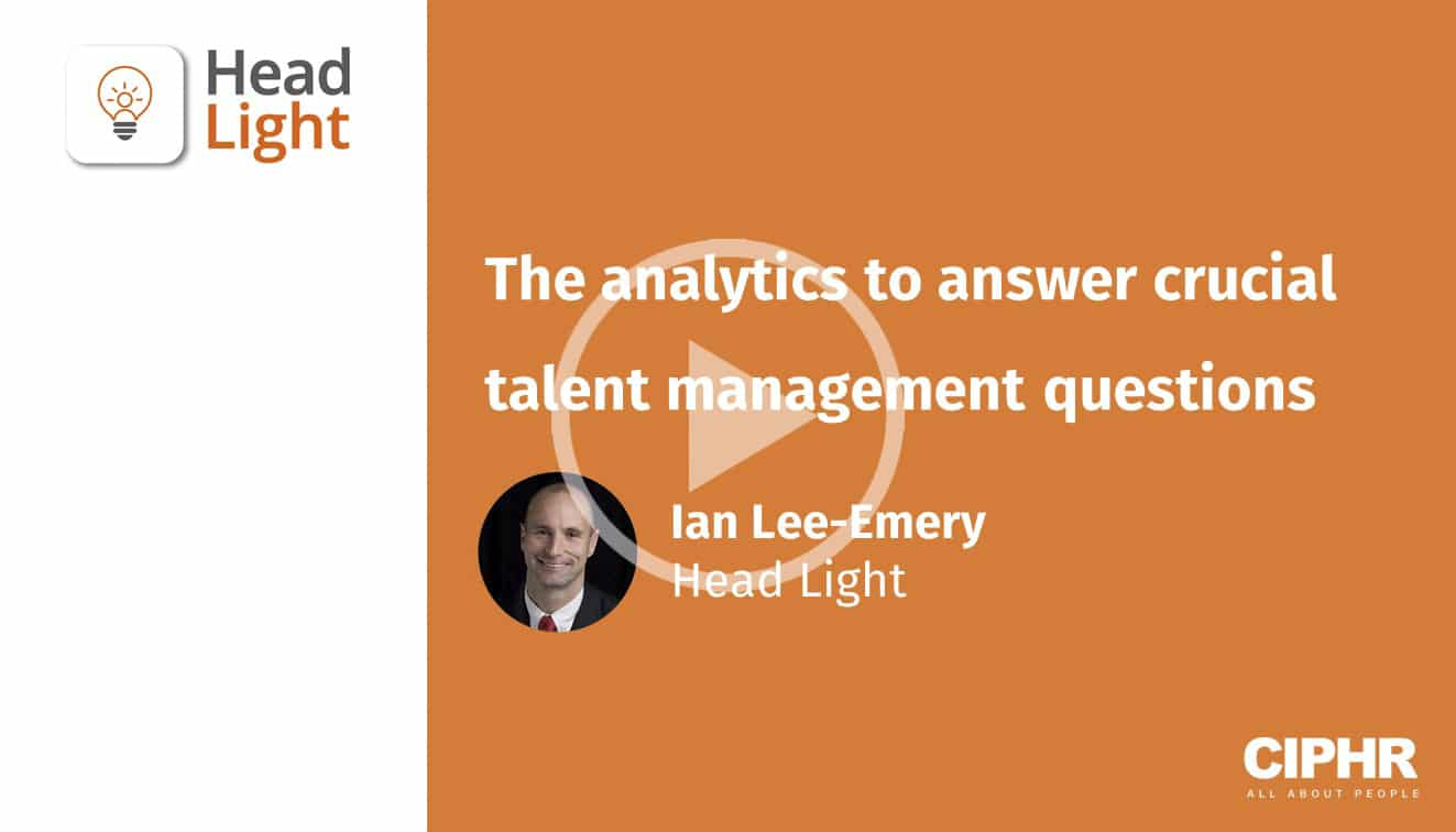The analytics to answer crucial talent management questions