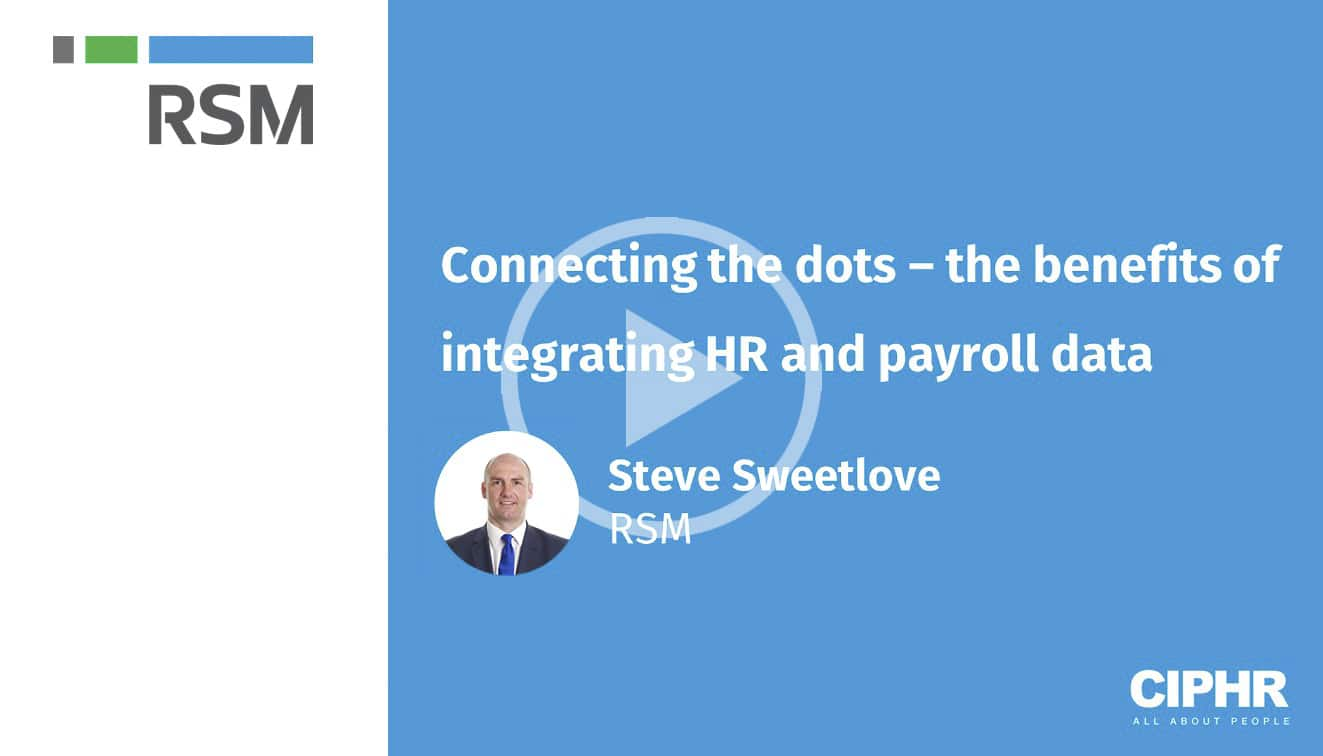 Connecting the dots – the benefits of integrating HR and payroll data