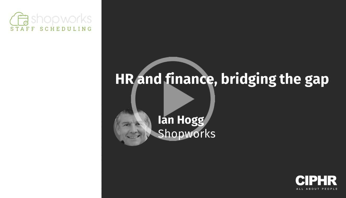HR and finance, bridging the gap