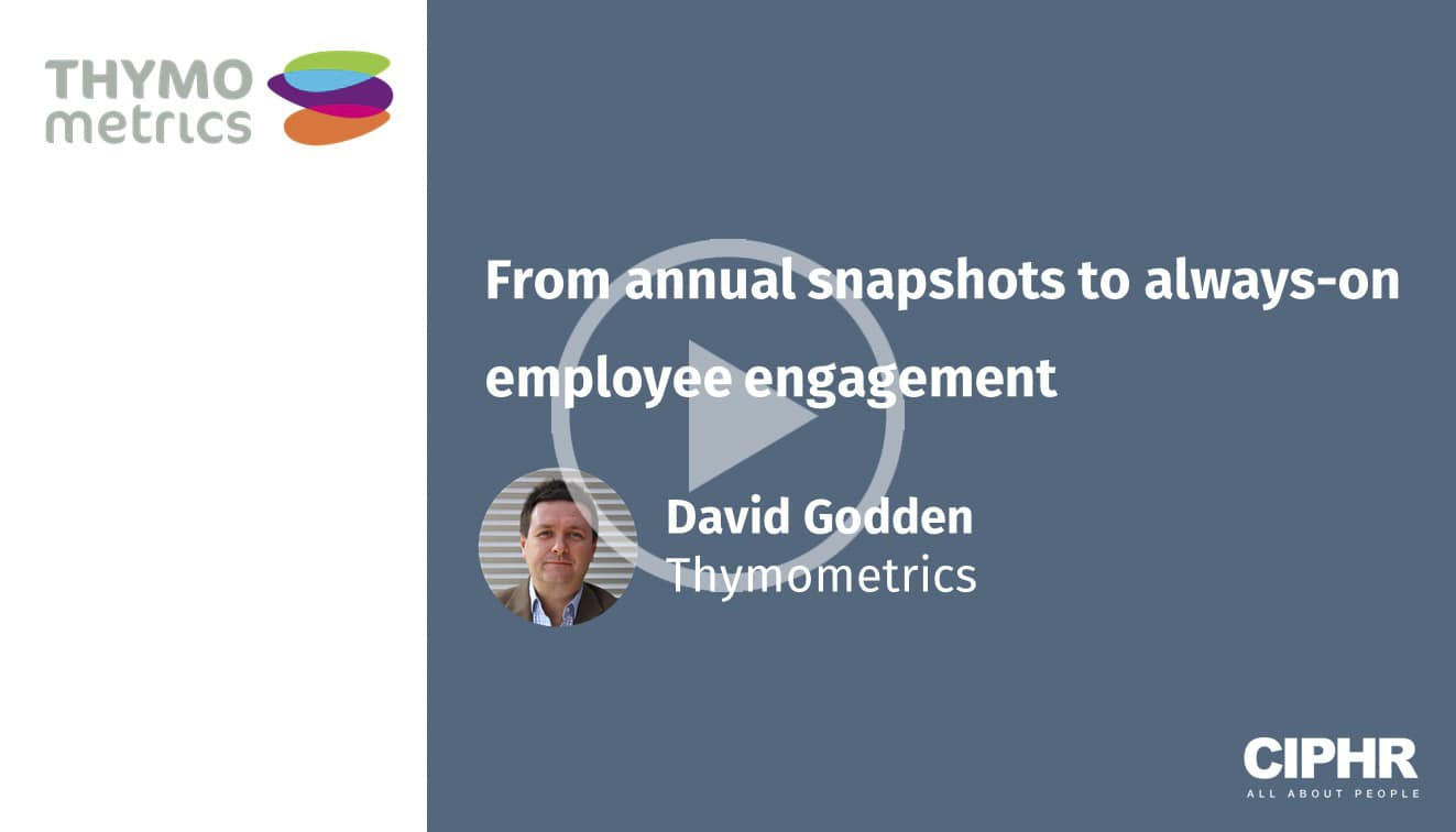 From annual snapshots to always-on employee engagement