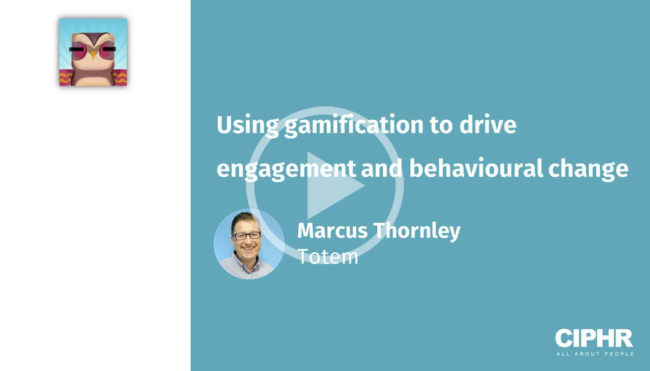 Using gamification to drive engagement and behavioural change