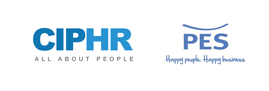 CIPHR hr systems and PES logos