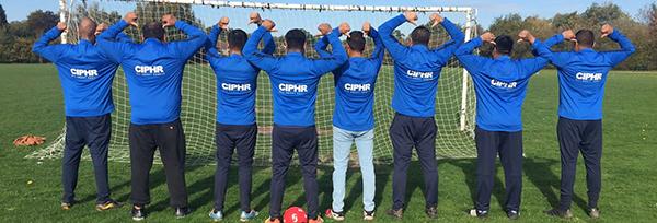 CIPHR hr software sponsor team