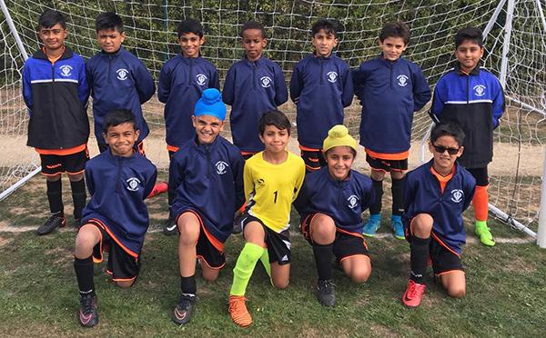 The U13 Singh Sabha Slough Youth FC
